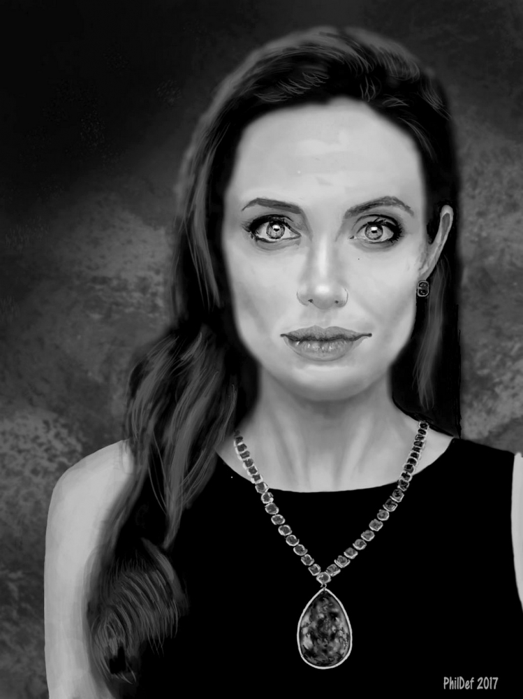 Angelina Jolie by Phildef